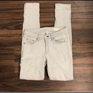[rag & bone] Gray Light wash Skinng Jeans Size 27